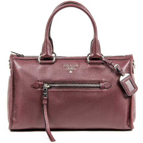 Prada Ladies BL0805 Vitello Phenix Handbag