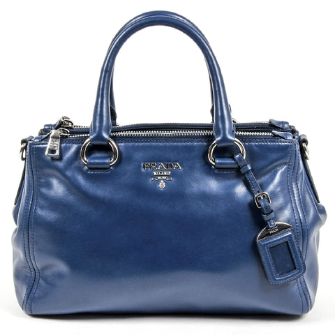 Prada Ladies BN2866 Nero Soft Calf Tote Handbag