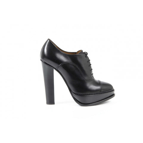 Ralph Lauren Womens Ankle Boot TEMPLE BURN.CALF BLACK