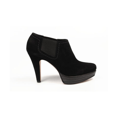 Sebastian Milano ladies ankle boot S5163 NEFER NERO
