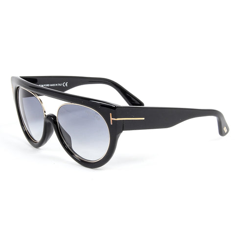 Tom Ford Womens Sunglasses ALANA FT0360 55 01B