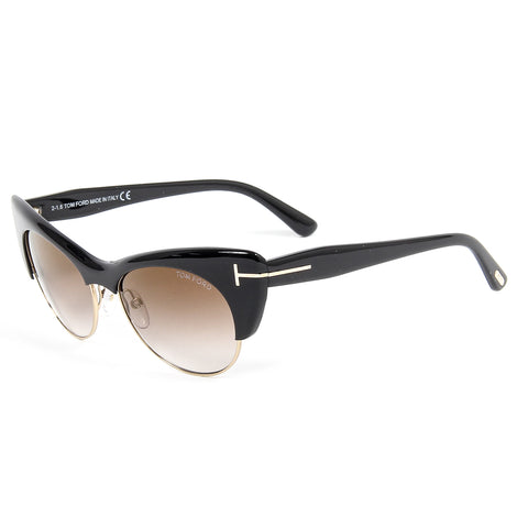 Tom Ford Womens Sunglasses  LOLA FT0387 54 01G