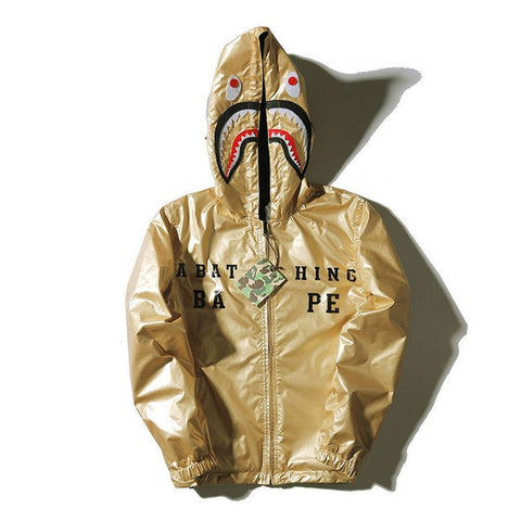 A Bathing Ape Shark Closed Faced Reversible Windbreaker