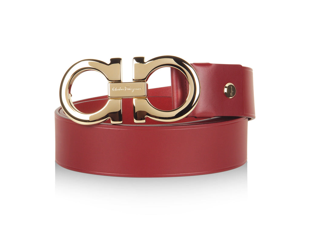 Salvatore Ferragamo Degrade Large-Gancini Buckle Belt