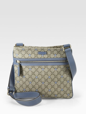 Gucci Men's GG Messenger Bag