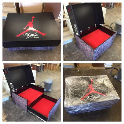 Giant Jordan Shoe Storage Box