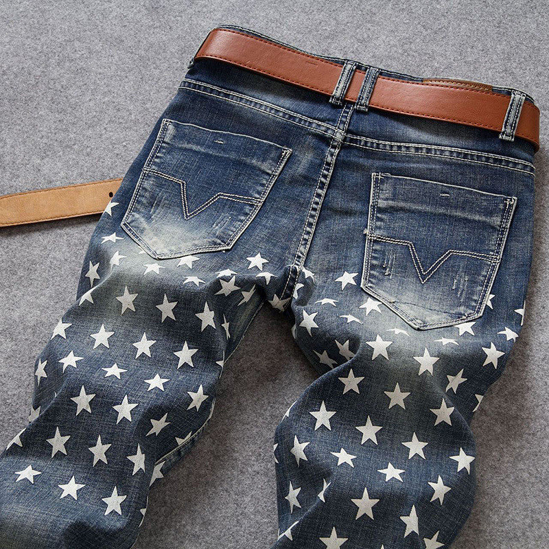 FourKings Captain Distressed Jeans