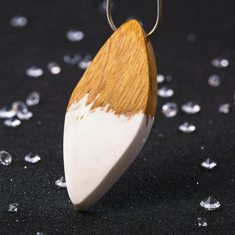 White - Wood & Resin