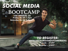 Social Media Boot Camp-2 Day Workshop-Los Angeles 06/29 & 06/30/2018