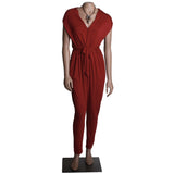 CONVERTIBLE SLEEVES JUMPSUIT