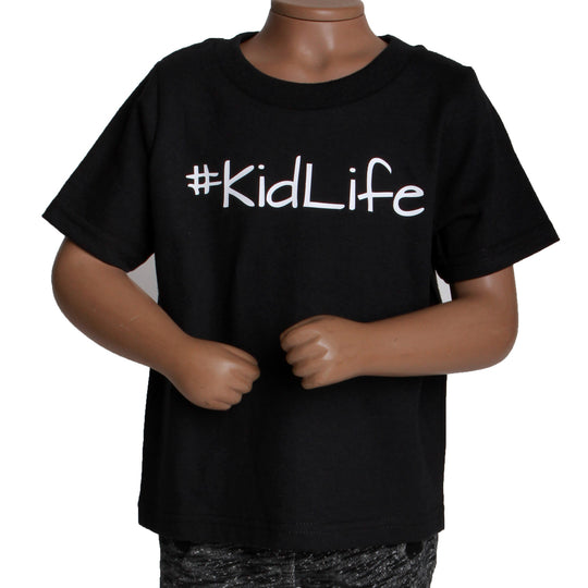 #KIDLIFE UNISEX SHIRT: BLACK