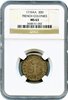 "Early American - French Colonies 1710AA FRENCH COLONIES 30D NGC MS63 ""Tied For Finest Known"""