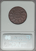 1787 FUGIO Fugio Cent, UNITED STATES, Cinquefoils NGC MS65 Red and Brown