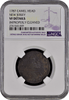 1787 Camel Head. New Jersey NGC VF Details