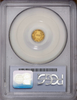 1860/56 California Fractional 50c BG-1014 PCGS AU53