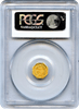 1869 California $1 BG-1106 Pearl Necklace Liberty Head PCGS MS62