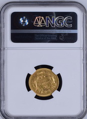 1874 $3.00 INDIAN PRINCESS NGC AU53 THREE DOLLAR