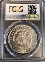 1880-S Morgan Silver $1 PCGS 66 PLUS  CAC Certified