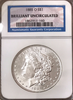 1885-O $1.00 Morgan Silver Dollar  NGC Brilliant Uncirculated