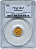1903 Thomas Jefferson/Louisiana Purchase Gold $1 PCGS MS67