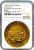 1903 California State Agricultural Society Gold Medal NGC MS62 Extremely Rare!