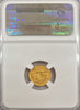 1909 Robert Fulton Gold $1.00 NGC MS66