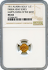 1911 Alaska Parka 50c Harts Coins of The West NGC MS64