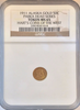 1911 Alaska Gold 50c PARKA HEAD SERIES NGC MS65