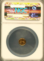 "1911 Parka Head Round 25c NGC MS66 ""Harts Coins of the West"""