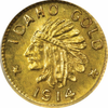 1914 Idaho GOLD $1.00 NGC MS67