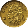 1914 Oregon GOLD $1.00 NGC MS67