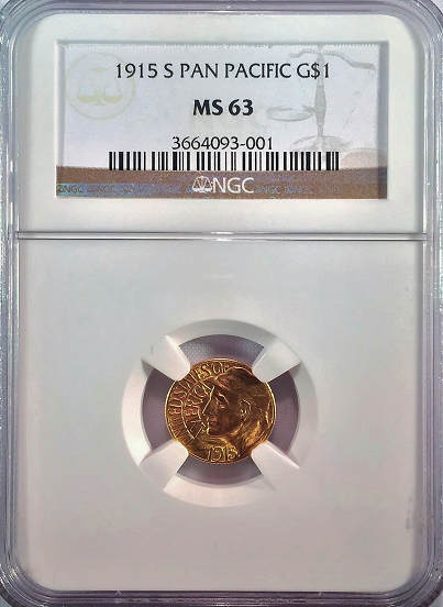 1915 S Pan Pacific Gold Dollar