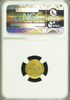 "1927 Gold Lincoln $1.00 NGC MS65 ""Matte Finish But Bright Yellow"" ""Grade Specimens HR6"" ""Mintage 500, Sold 300, Melt 200"" ""Tied for 2nd Finest Known"""