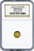 1935 California GOLD So Called Dollar 50c NGC MS66 San Diego Exposition