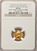 "1939 N.Y. World's Fair Lincoln Gold NGC MS64 ""500 Struck"" ""R.5 Certified Coins"" ""Matte Finish"" "" Bright Yellow"""