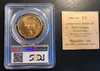 1960 Pony Express 22K Gold Medal - Heraldic Art PCGS MS68 Serial #22.