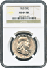 1963 50c Franklin Half Dollar FBL  NGC MS64