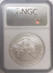 (#194) 2007-W Eagle S41. Early Releases. NGC MS69