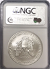 (#192) 2007-W Eagle S$1. Early Releases. NGC MS69