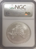 (#198) 2008-W Eagle S$1. Early Releases. NGC MS70