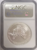 (#197) 2008-W Eagle S$1. Early Releases. NGC MS70