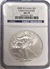 (#196) 2008-W Eagle S$1. Early Releases. NGC MS70