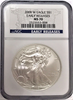 (#195) 2008-W Eagle S$1. Early Releases. NGC MS70 Burnished