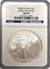(3) 2008 Eagle S$1. Early Releases NGC MS69