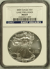 (#207) 2009 Eagle S$1. Early Releases. NGC MS69
