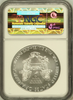 (#208) 2009 Eagle S$1. Early Releases. NGC MS69