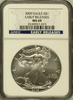 (#213) 2009 Eagle S$1. Early Releases. NGC MS69