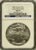 (#217) 2009 Eagle S$1. Early Releases. NGC MS69