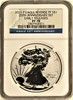 (#147) 2011-P Eagle Reverse PFS$1  25Th Anniversary Set. Early Releases. NGC PF70