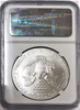 (#221) Struck at the Sanfrancisco Mint. 2013-S Eagle S$1. Early Releases. NGC MS70